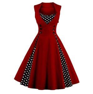Ihot Retro pin-up style dress